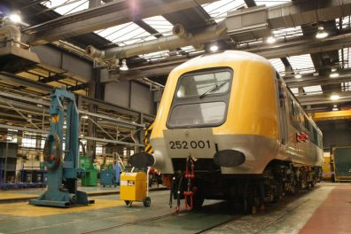 41001 seen taking pride of place at Neville Hill
