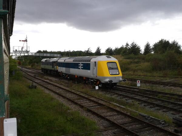 41001 seen being shunted into the yard at Ruddington hy D7629 on its day of arrival