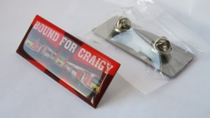 Bound for Craigy Pin Badge