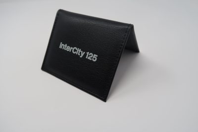 Stood up view of Intercity 125 Ticket Wallet