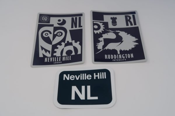 Set of 3 HST Depot stickers