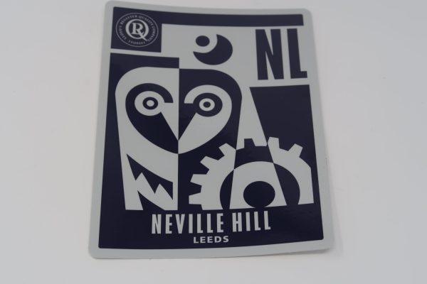 Neville Hill Leeds Depot Sticker (Modern)