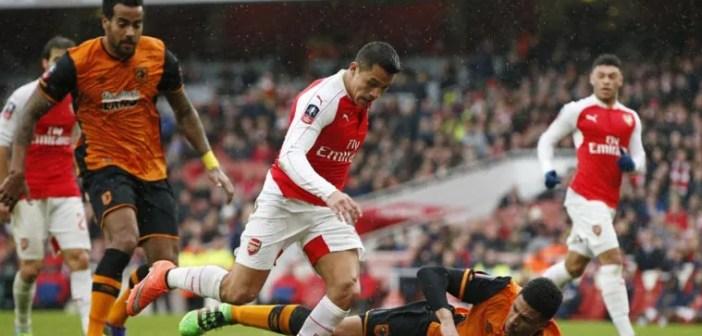Arsenal vs. Hull