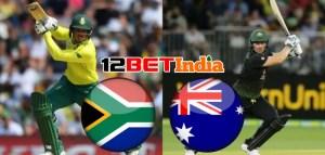 12BET Cricket Match Today: South Africa vs Australia