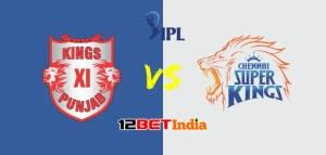 12BET Predictions IPL 2020 Match 18 Kings XI Punjab Vs Chennai Super Kings