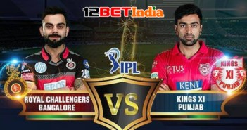 12BET Predictions IPL 2020 Match 31 Royal Challengers Bangalore Vs Kings XI Punjab