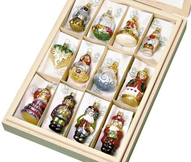 Complete Set Of The  Days Of Christmas Ornament