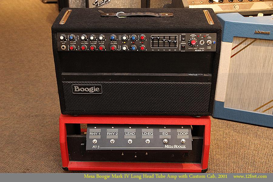 Mesa Boogie Mark Iv Long Head Tube Amp With Custom Cab