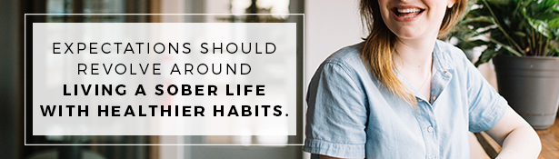 Setting Realistic Expectations: Focus on healthy habits