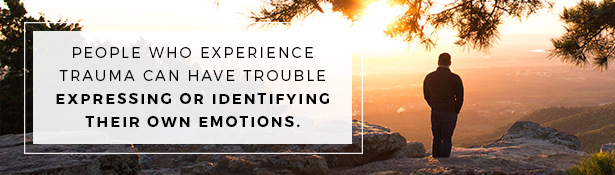 Effects of Trauma: Trouble Expressing Emotions
