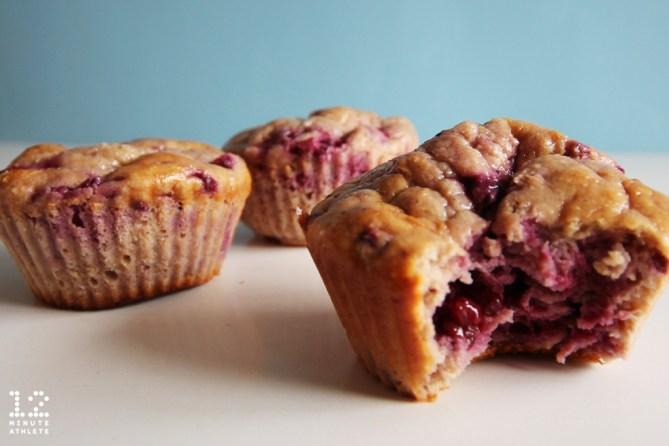 blackberry oatmeal muffins
