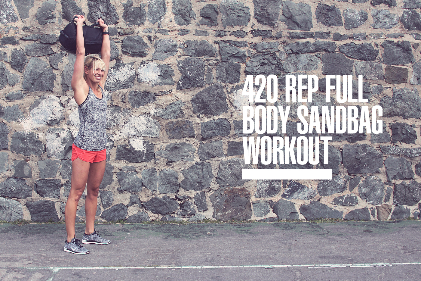420 Rep Full Body Sandbag Workout