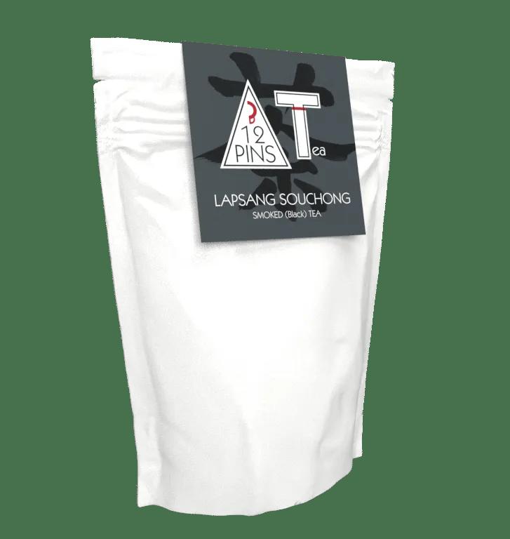 Lapsing Souchong tea pouch