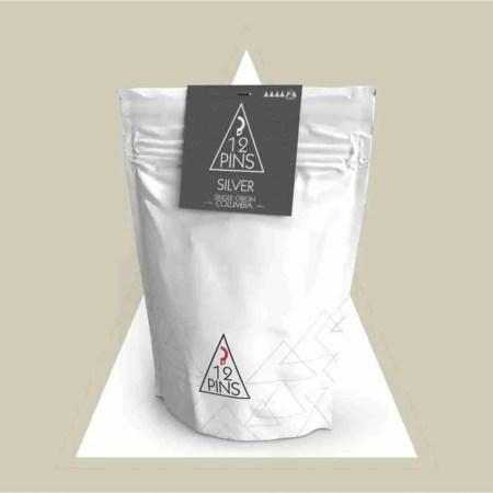silver - single origin columbian coffee