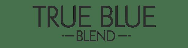 true blue blend logo