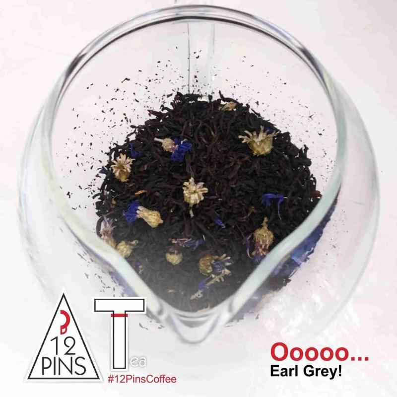 12 Pins loose leaf Earl Grey Tea