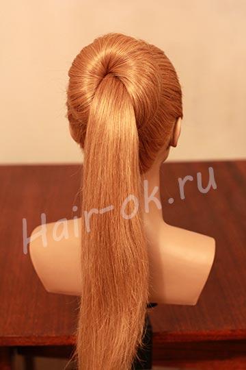 DIY Easy Sock Bun Updo Hairstyle