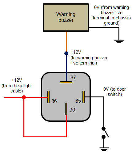 Headlights_left_on_warning_buzzer?resize=429%2C498&ssl=1 spst relay wiring diagram the best wiring diagram 2017 elock wiring diagram at readyjetset.co