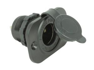 Blue Sea Systems Weatherproof 12V Socket | 12 Volt Pla