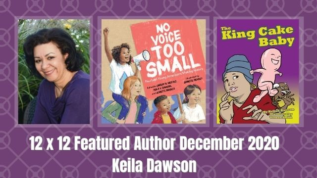 12 X 12 December Featured Author – Keila Dawson