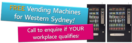 FREE Vending Machines for Western Sydney