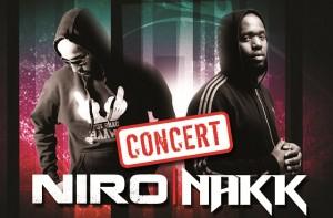 Nakk : concert avec Niro au Divan Du Monde + Visuel de Supernova