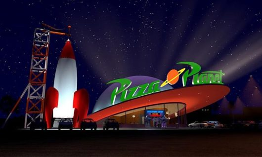 Disney ouvre un vrai Pizza Planet de Toy Story