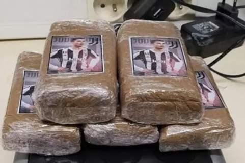 Cristiano Ronaldo : A Marseille, la police saisies des plaquettes de cannabis à son effigie !