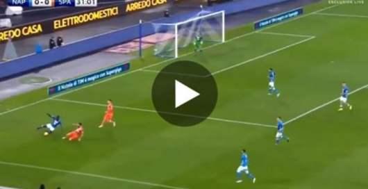 Quand Kalidou Koulibaly invente la feinte de tacle en plein match (Vidéo)