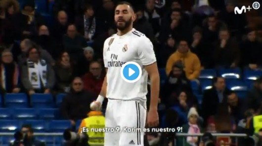 Benzema : son échange génial avec les supporters du Real en plein match !