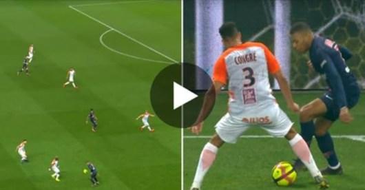 Kylian Mbappé : ses dribbles merveilleux pour humilier les joueurs de Montpellier