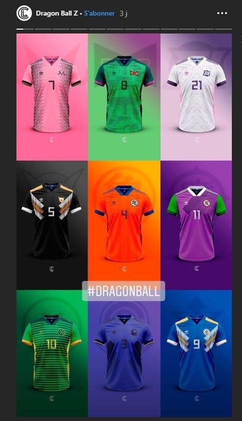 2207d0e62 ... de Dragon Ball Z (Son Goku, Boo, Trunks, Freezer, Piccolo et Shenron),  une idée géniale d'une collection non officielle et fictive entre Adidas et  DBZ à ...