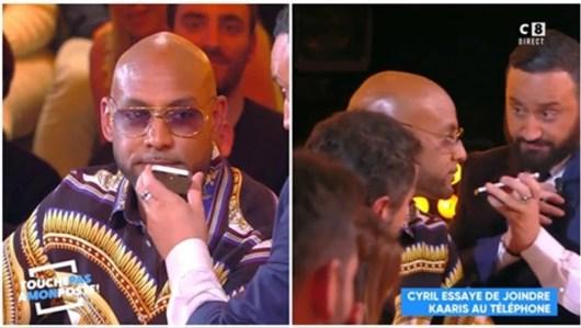 TPMP avec Booba, Cyril Hanouna appelle Kaaris en direct et révèle son N° !