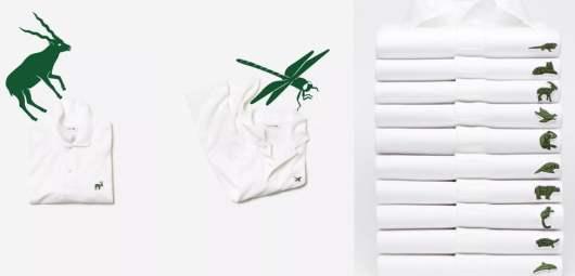 Lacoste : le célèbre logo du crocodile cède sa place à 10 autres animaux !