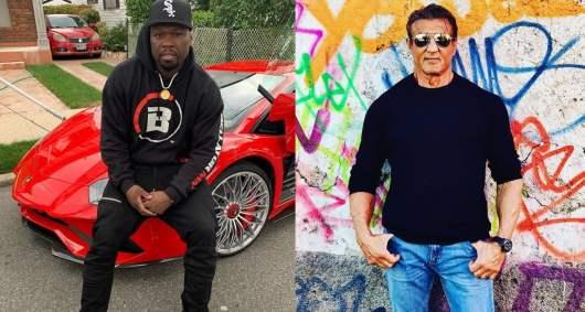 50 Cent s'attaque maintenant à Sylvester Stallone sur Instagram ?