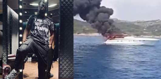 Maitre Gims : grosse frayeur pour le rappeur son bateau en feu, il réussi à se sauver [Vidéo]
