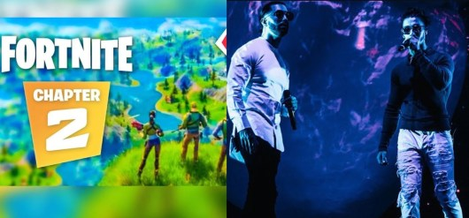 Fortnite s'inspire de PNL pour lancement du chapitre 2 et fait le buzz sur la toile !