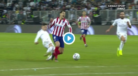 Valverde enflamme la toile après s'être sacrifié en taclant Morata qui partait seul au but