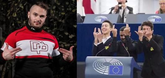 Jul : son célèbre signe des mains repris au Parlement Européen, il réagit !