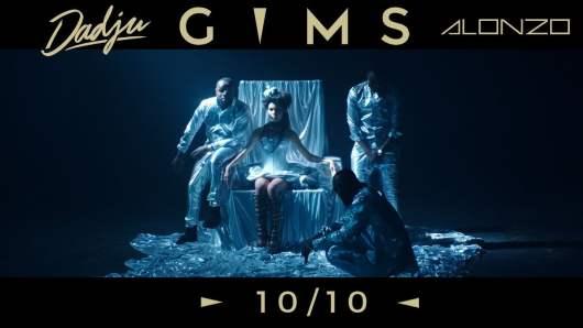 Gims invite Dadju et Alonzo sur le clip 10/10