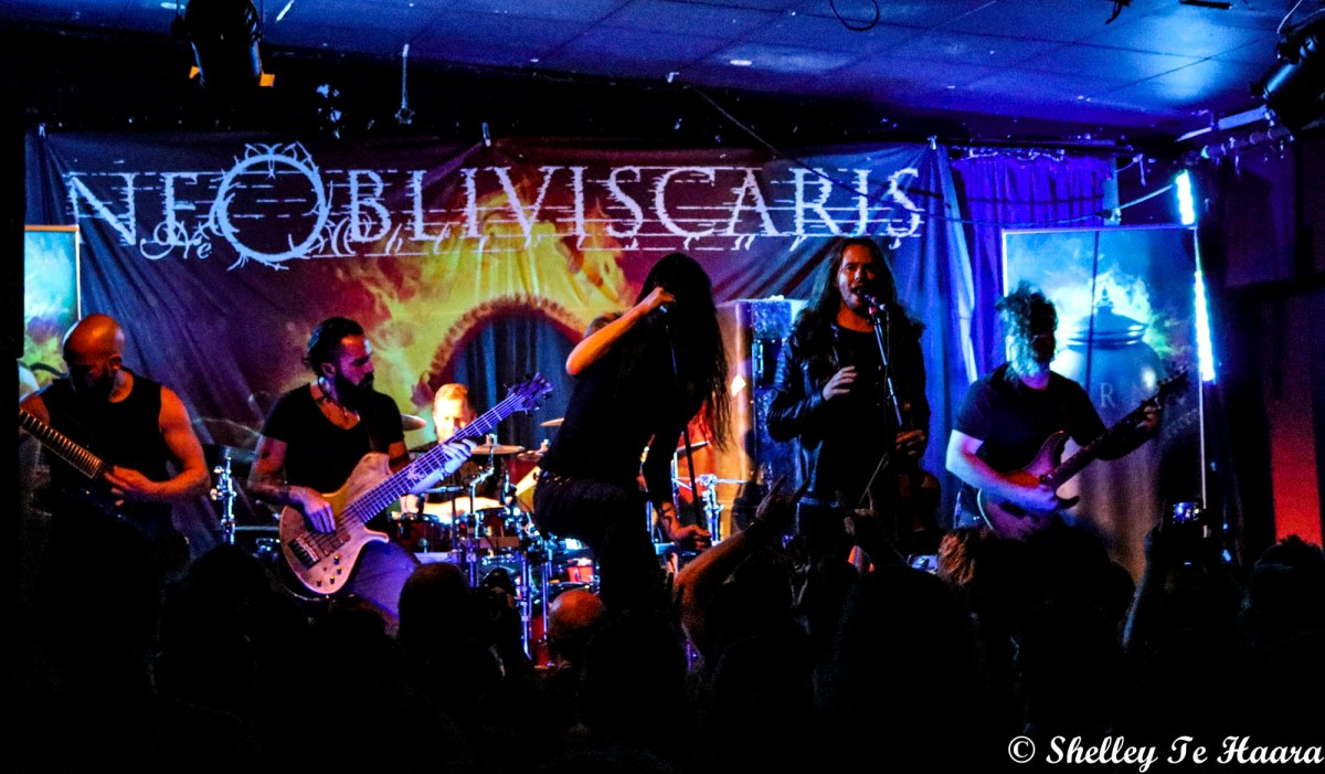 Ne Obliviscaris, Metal Tower, Set On End - King's Arms February 21, 2018