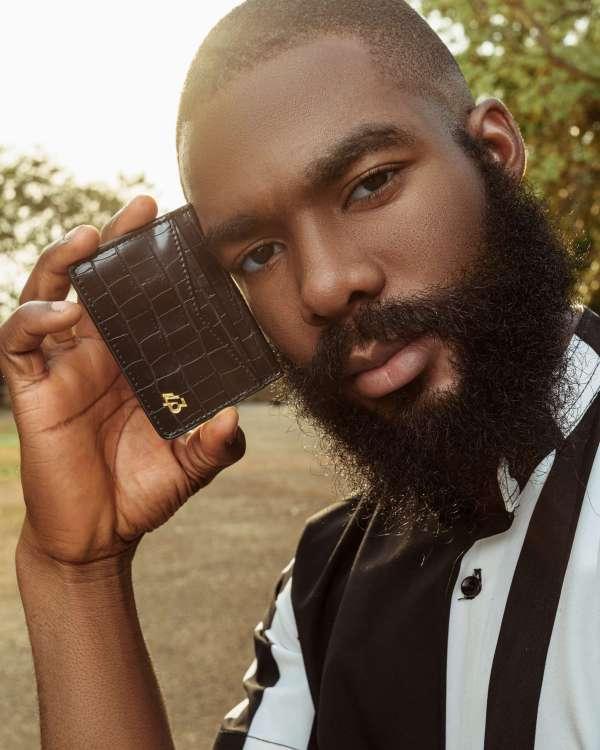 1403 Black Card Holder