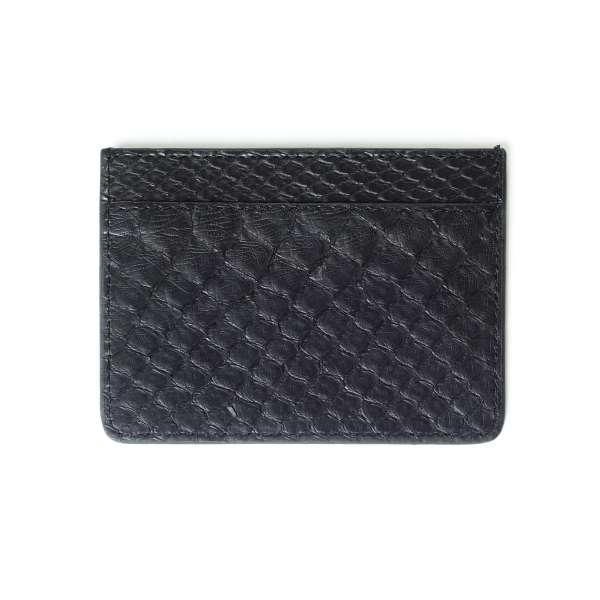 1403 Black Snakeskin Cardholder
