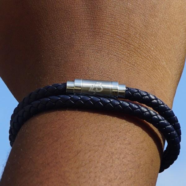 Loop bracelet Blue