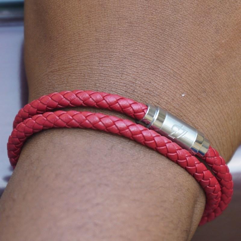 Maroon Loop Bracelet