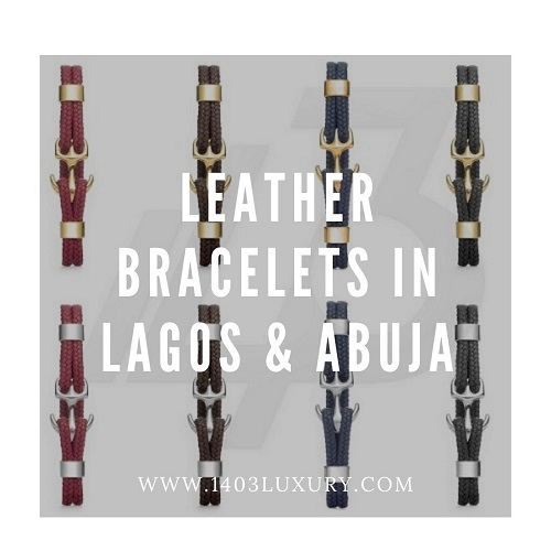 Leather Bracelets in Lagos and Abuja