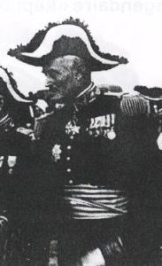 La légion étrangère Richert officiers