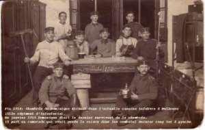 26 Photos de Dominique Richert dans l'armée allemande  de 1914 à 1918
