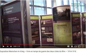 Vivre en temps de Guerre des deux côtés du Rhin 1914-1918 ( 4 vidéos )