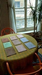 Manuscrit Printerpix des 8 livres mis en Album